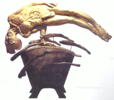 Figure with Lamprey; 1995