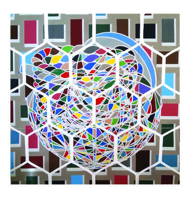 Still life with Truncated; Icosorhombic Dodecahedra; 2014